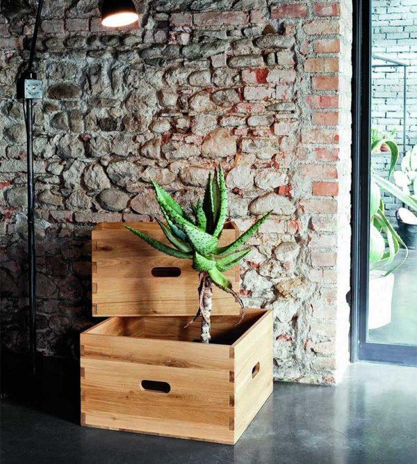 Tavolino contenitore Wood