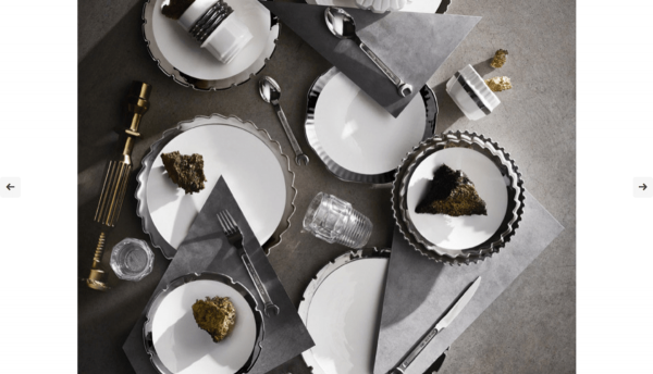 Machine Collection Silver Edge – Set da Tavola