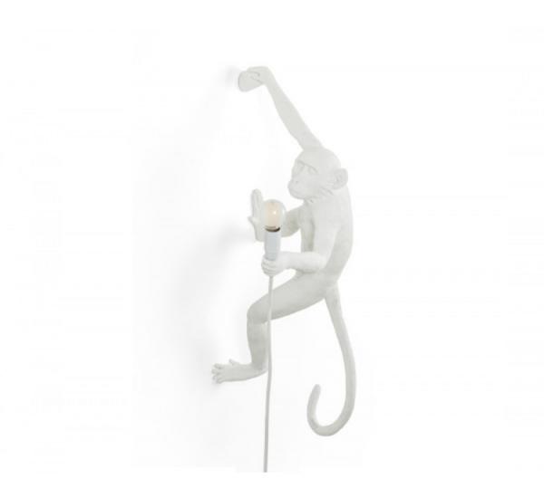 Seletti Monkey Lampada Bianco – Appesa a Mano Destra Outdoor