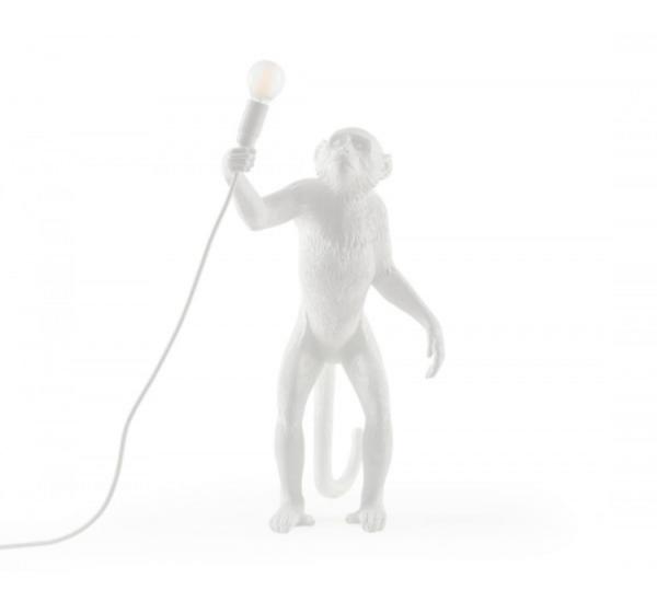 Seletti Monkey Lampada Bianco – In piedi Outdoor