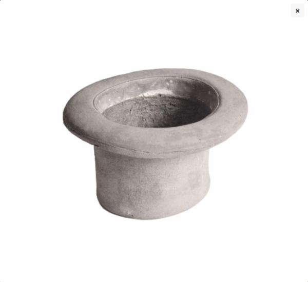 Concrete Chapeau Cilindro